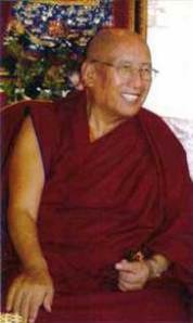 """I confer upon Trijang Buddhist Institute the authority to represent and transmit the teachings of the Gelug order of Tibetan Buddhism in the United States."""